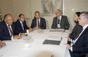 وزير الخارجية يلتقي القائم بأعمال وزير المالية الألماني على هامش مؤتمر ميونيخ للأمن   صور