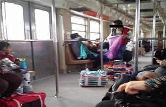"""""""تفاقم ظاهرة الباعة الجائلين في المترو وتزايد التحرش"""" في طلب إحاطة لوزير النقل"""