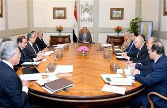 """الرئيس السيسي يستعرض في اجتماع وزاري موسع عملية """"سيناء 2018"""" وخفض سعر الفائدة"""