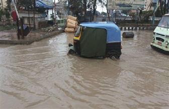 الأمطار تغرق كفر الشيخ وتحذيرات من خروج سفن الصيد