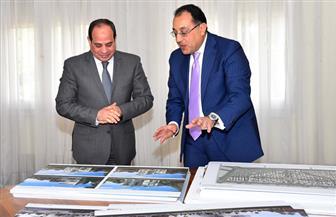 تفاصيل لقاء الرئيس السيسي بوزير الإسكان لمتابعة المشروعات الجديدة | صور