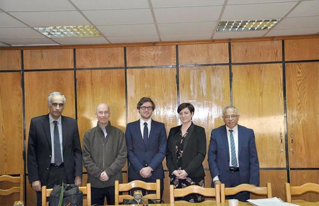 جامعة الأزهر تستقبل وفدا من المجلس الثقافي البريطاني -