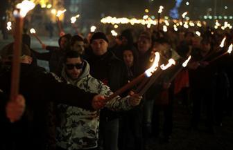 يمينيون متطرفون يشاركون في مسيرة بصوفيا تكريما لجنرال كان مؤيدا للنازية