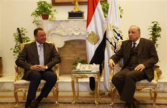 ننشر تفاصيل لقاء محافظ القاهرة بالكابتن محمود الخطيب | صور