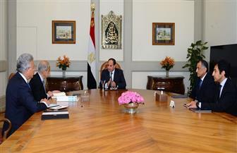 الرئيس السيسي يجتمع بإسماعيل وعامر وعرفان لبحث مشروع الغطاء التأميني للعمالة الحرة