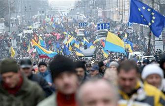 الآلاف يتظاهرون في شوارع أوكرانيا مطالبين بعزل الرئيس