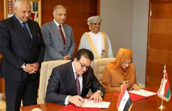 برنامج تنفيذي بين مصر وسلطنة عمان بمجالات التعليم العالي والبحث العلمي |صور