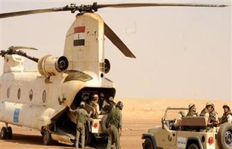 القوات المسلحة تصدر البيان 11 بشأن العملية سيناء 2018
