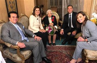 رشا نبيل تقدم حلقة إنسانية فى أولى حلقاتها ببرنامج «مصر النهاردة»