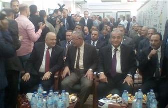 محافظ المنيا يستقبل وزير التموين.. وافتتاح عدد من المشروعات