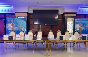 استعدادات المؤتمر الصحفي لمهرجان شرم الشيخ السينمائي | صور