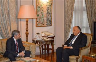 وزير الخارجية يستقبل مدير عام المركز الدولي لتنمية سياسات الهجرة