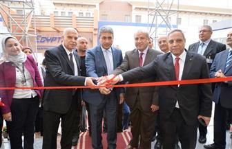 شريف فتحي يفتتح مبنى مصر للطيران للصيانة الجديد | صور