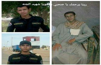 """تشييع جثمان المجند """"إسلام"""" شهيد الواجب بساحل سليم"""