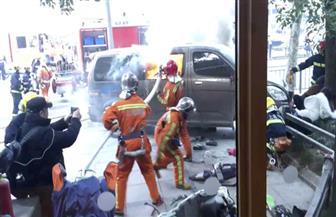 إصابة 18 جراء اصطدام سيارة بمجموعة من المارة في مدينة شانغهاي الصينية