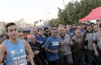 انتهاء ماراثون مجدي يعقوب الخيري بسباق 42 كيلو مترًا   صور