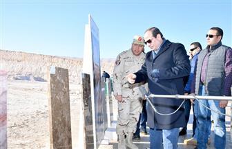 الرئيس عبد الفتاح السيسى يتفقد مشروع هضبة الجلالة البحرية صباح اليوم | صور