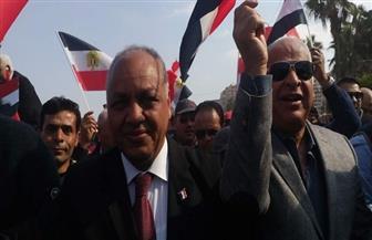 انطلاق مسيرة لدعم الرئيس السيسي بالإسكندرية بمشاركة نواب بالبرلمان| صور