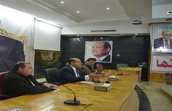 محافظ مطروح يلتقي رابطة الشباب لتفعيل دورها فى تحفيز المواطنين للمشاركة في الانتخابات