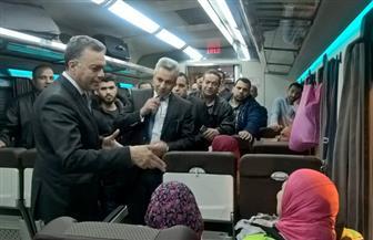 وزير النقل في جولة مفاجئة بمترو الأنفاق ومحطة مصر للسكك الحديدية | صور