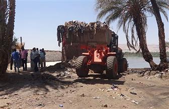 """""""البيئة"""": حملة لتطهير النيل من المخلفات بأسوان"""