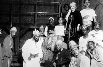 الريحاني مع جوزفين بيكر وكشكش بيك بكفر البلاص..صور خاصة من 90 سنة