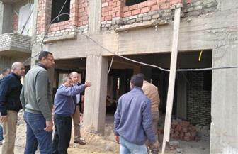مسئولو الإسكان يتفقدون تطوير منطقة الصحابي غير الآمنة بمحافظة أسوان