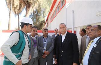 جولة تفقدية لمحافظ قنا بمركز ومدينة نجع حمادي | صور