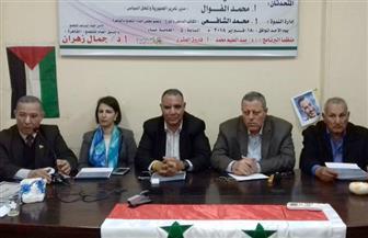 نائب السفير السوري بالقاهرة: 134 مليار دولار أنفقت على مخطط التقسيم.. والأزمة صنعتها غرف الفضائيات السوداء
