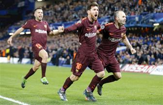 ميسي ينقذ برشلونة من فخ تشيلسي في دوري الأبطال