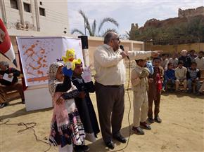 اختتام فعاليات قافلة ثقافية لاكتشاف مواهب أطفال واحة سيوة