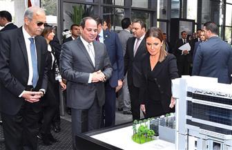 الرئيس السيسي يشهد افتتاح عدد من المراكز الاستثمارية