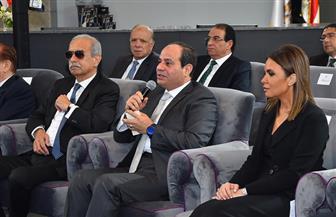 """الرئيس السيسي عن قضية استيراد الغاز: """"جبنا جول جامد جدا"""""""