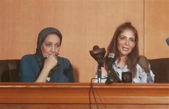 محمد عبدالعزيز ومحمود قابيل يشيدان بنجومية منى زكي في ندوة تكريمها