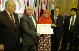 فتاة صعيدية تحصل على المركز الأول على مستوى الوطن العربي في مسابقة التحدث بالفصحى