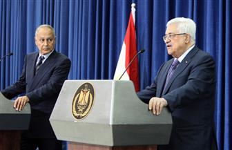 أبو الغيط يدعو العالم لدعم رؤية أبو مازن لإحلال السلام