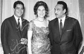 ذكريات لمحرم فؤاد وجلال معوض وليلى فوزي في حفلات الأصدقاء وصور منذ عام 1953