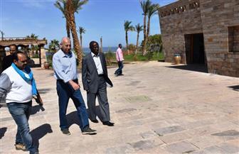 محافظ أسوان يتابع اللمسات الأخيرة قبل انطلاق احتفالات تعامد الشمس | صور