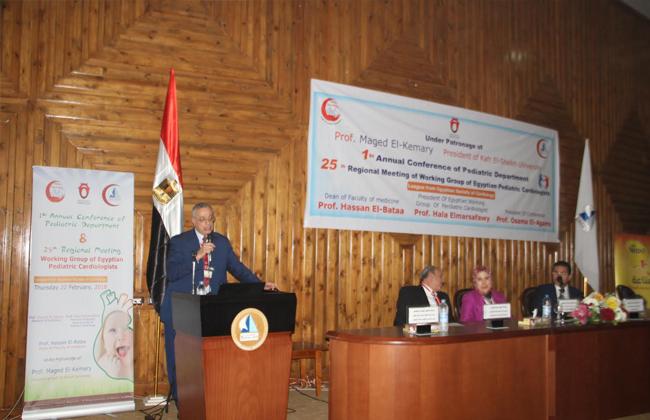 أمراض قلب الأطفال  التحديات والحلول  في مؤتمر كلية الطب بجامعة كفرالشيخ   صور -