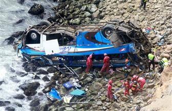44 قتيلا في البيرو جراء سقوط حافلة