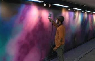 عضو جمعية مبدعون: استغرقنا ٢٥ يوما في تزيين محطة مترو الأوبرا