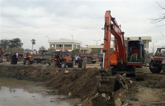 بدء حفر وإنشاء خزان مياه بقرية بيهمو للقضاء على مشكلة مركز سنورس بالفيوم | صور