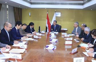 """وزير النقل يدعو وفد """"الجايكا"""" اليابانية لتطوير السكة الحديد بعد مساهمتها بـ1.2 مليار دولار"""