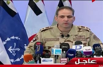 """المتحدث العسكري: القضاء على 71 تكفيريا والقبض على 1852 شخصا في عملية """"سيناء 2018"""""""