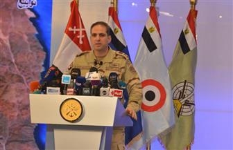 المتحدث العسكري: تدمير 392 عبوة ناسفة و413 هدفا للعناصر الإرهابية بشمال ووسط سيناء