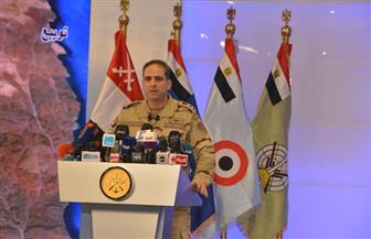 """المتحدث العسكري: القوات المسلحة والشرطة """"مدربة"""" على تنفيذ العديد من المهام في وقت واحد"""
