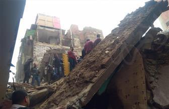 مصرع طفلة وإصابة سيدة في انهيار أجزاء من عقار في الإسكندرية