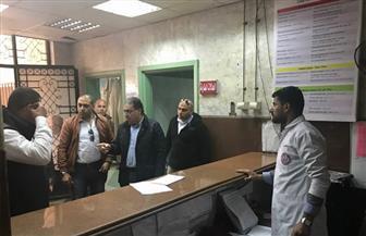وزير الصحة في زيارة مفاجئة لمستشفى رأس التين بالإسكندرية