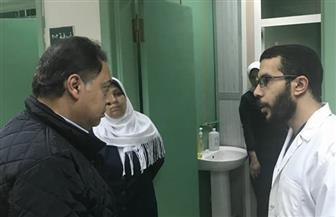 """وزير الصحة يحيل وكيل """"الصحة"""" بالإسكندرية للتحقيق في مخالفات """"رأس التنين"""""""