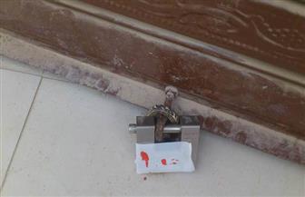 غلق وتشميع ٧ محلات مخالفة بهضبة الأهرام| صور